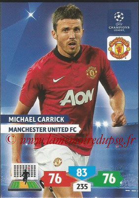 2013-14 - Adrenalyn XL champions League N° 176 - Michael CARRICK (Manchester United FC)