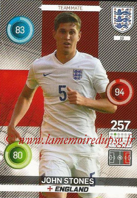 Panini England 2016 Adrenalyn XL - N° 019