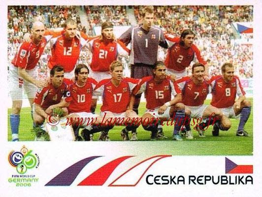 2006 - Panini FIFA World Cup Germany Stickers - N° 359 - Équipe République Tchèque