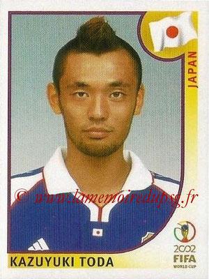 2002 - Panini FIFA World Cup Stickers - N° 539 - Kazuyuki TODA (Japon)