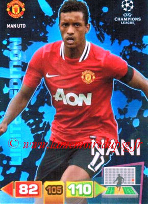 2011-12 - Panini Champions League Cards - N° LE29 - NANI (Manchester United FC) (Limited Edition Black)