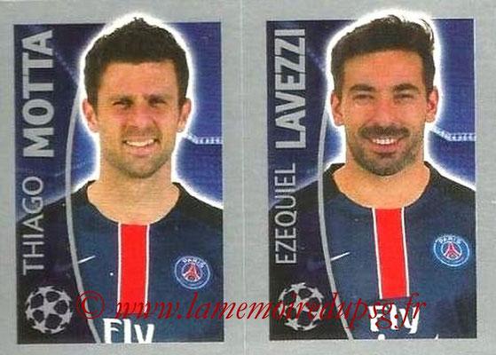 N° 031 - Thiago MOTTA + Ezequiel LAVEZZI