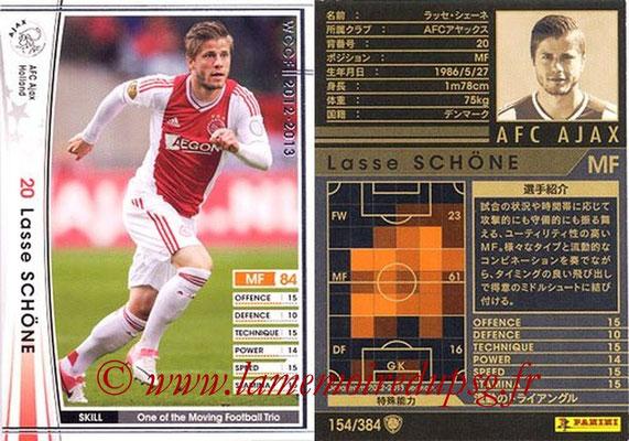 2012-13 - WCCF - N° 154 - Lasse SCHONE (AFC Ajax)