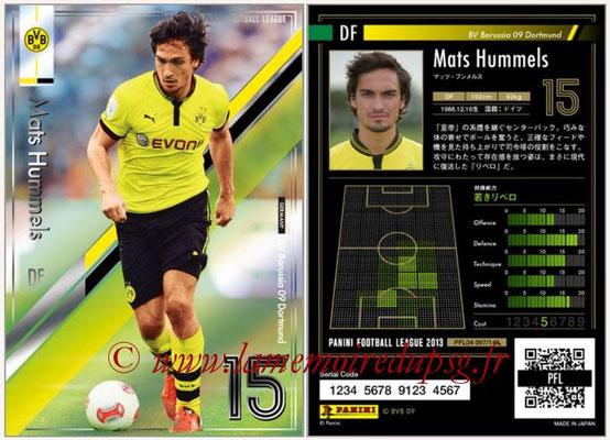 Panini Football League 2013 - PFL04 - N° 097 - Mats HUMMELS (Borussia Dortmund)