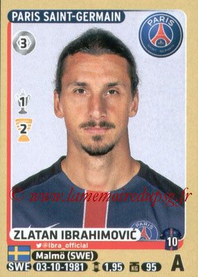 2015-16 - Panini Ligue 1 Stickers - N° 358 - Zlatan IBRAHIMOVIC (Paris Saint-Germain)