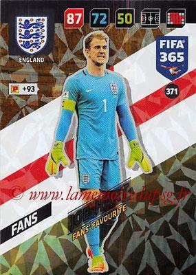 2017-18 - Panini FIFA 365 Cards - N° 371 - Joe HART (Angleterre) (Fans' Favourite)