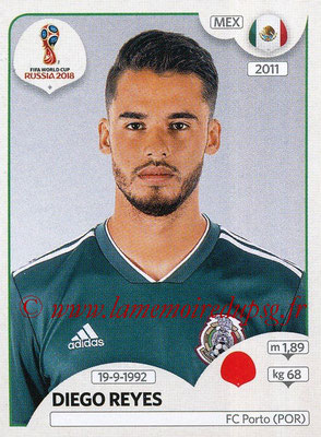 2018 - Panini FIFA World Cup Russia Stickers - N° 456 - Diego REYES (Mexique)