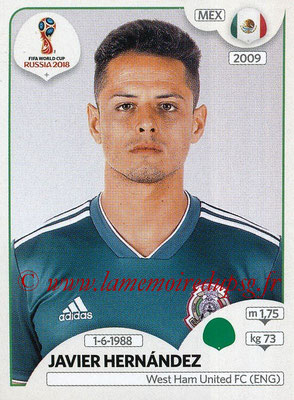 2018 - Panini FIFA World Cup Russia Stickers - N° 470 - Javier HERNANDEZ (Mexique)