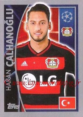 2015-16 - Topps UEFA Champions League Stickers - N° 329 - Hakan CALHANOGLU (Bayer 04 Leverkusen)