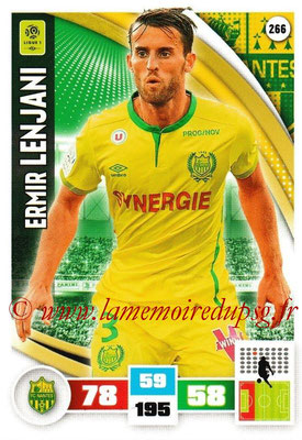 2016-17 - Panini Adrenalyn XL Ligue 1 - N° 266 - Ermir LENJANI (Nantes)
