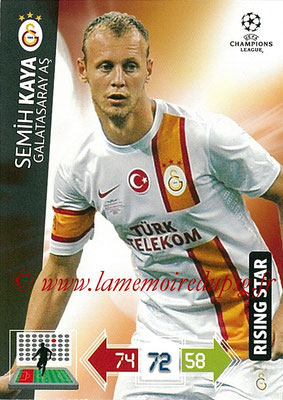 2012-13 - Adrenalyn XL champions League N° 102 - Semih KAYA (Galatasaray AS) (Rising Star)