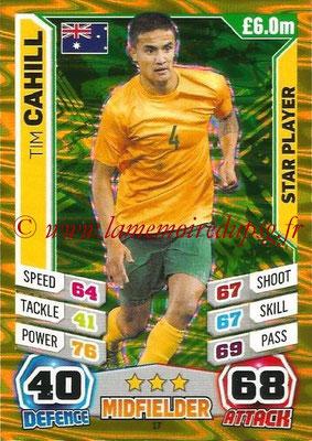 Topps Match Attax England 2014 - N° 017 - Tim CAHILL (Australie)