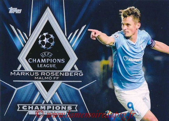 2015-16 - Topps UEFA Champions League Showcase Soccer - N° CP-MR - Markus ROSENBERG (Malmö FF) (Champions Pedigree)