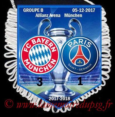 Fanion Bayern-PSG  2017-18