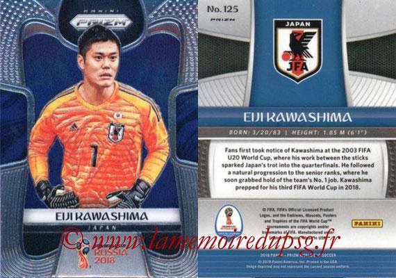 2018 - Panini Prizm FIFA World Cup Russia - N° 125 - Eiji KAWASHIMA (Japon)