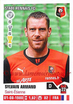 N° 363 - Sylvain ARMAND (2004-13, PSG > 2013-14, Rennes)