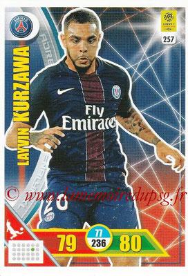 2017-18 - Panini Adrenalyn XL Ligue 1 - N° 257 - Laywin KURZAWA (Paris Saint-Germain)