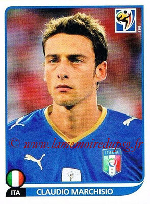 2010 - Panini FIFA World Cup South Africa Stickers - N° 423 - Claudio MARCHISIO (Italie)