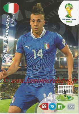 2014 - Panini FIFA World Cup Brazil Adrenalyn XL - N° 220 - Stephan EL SHAARAWY (Italie)