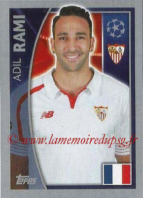 2015-16 - Topps UEFA Champions League Stickers - N° 267 - Adil RAMI (FC Seville)