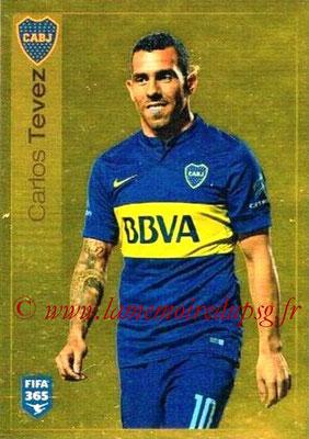 2015-16 - Panini FIFA 365 Stickers - N° 089 - Carlos TEVEZ (CA Boca Juniors)