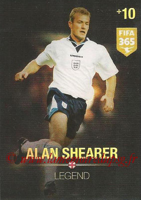 2015-16 - Panini Adrenalyn XL FIFA 365 - N° 372 - Alan SHEARER (Angleterre) (Legend)