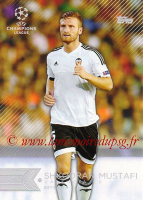 2015-16 - Topps UEFA Champions League Showcase Soccer - N° 195 - Shkodran MUSTAFI (FC Valence)