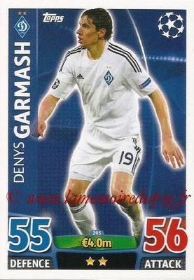 2015-16 - Topps UEFA Champions League Match Attax - N° 295 - Denys GARMASH (FC Dynamo Kiev)