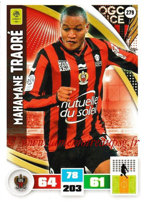 2016-17 - Panini Adrenalyn XL Ligue 1 - N° 279 - Mahamane TRAORE (Nice)