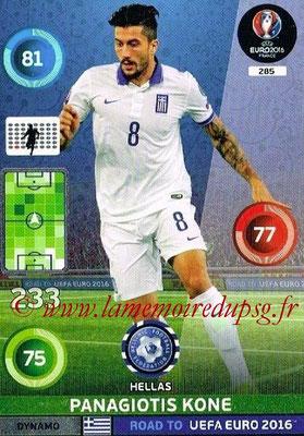 Panini Road to Euro 2016 Cards - N° 285 - Panagiotis KONE (Grèce) (Dynamo)