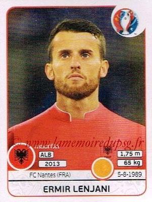 Panini Euro 2016 Stickers - N° 080 - Ermir LENJANI (Albanie)