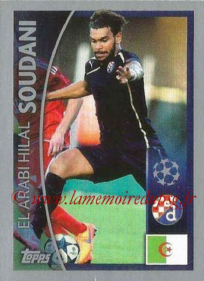 2015-16 - Topps UEFA Champions League Stickers - N° 376 - El Arabi Hilal SOUDANI (GNK Dinamo Zagreb)
