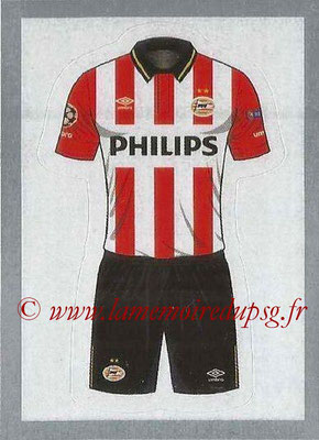 2015-16 - Topps UEFA Champions League Stickers - N° 077 - Maillot Domicile PSV Eindhoven