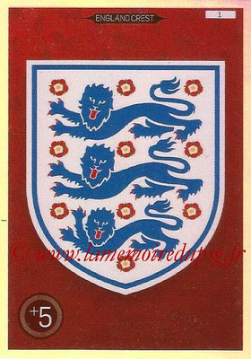 Panini England 2016 Adrenalyn XL - N° 001