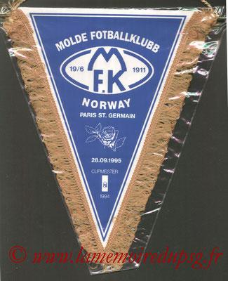 Fanion officiel PSG-Molde