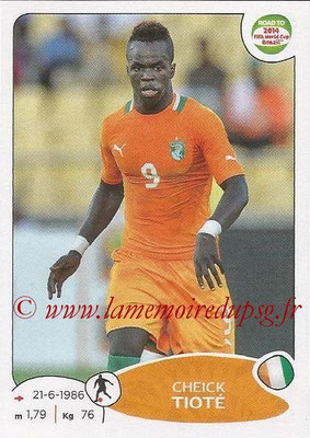 2014 - Panini Road to FIFA World Cup Brazil Stickers - N° 390 - Cheick TIOTE (Côte d'Ivoire)