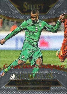 2015 - Panini Select Soccer - N° E11 - Salomon KALOU (Côte d Ivoire) (Equalizers)