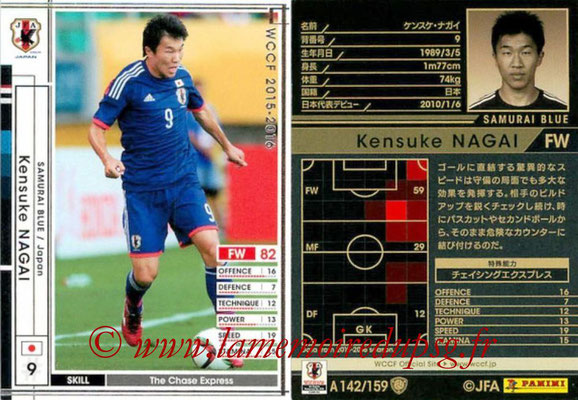 2015-16 - Panini WCCF - N° A142 - Kensuke NAGAI (Japon)