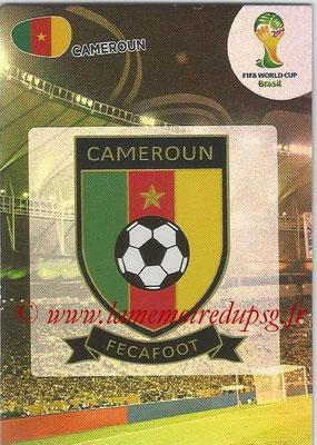 2014 - Panini FIFA World Cup Brazil Adrenalyn XL - N° 061 - Logo Cameroun