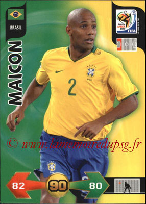 2010 - Panini FIFA World Cup South Africa Adrenalyn XL - N° 035 - MAICON (Bresil)
