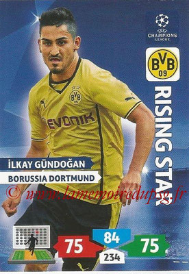 2013-14 - Adrenalyn XL champions League N° 104 - Ilkay GUNDOGAN (Borussia Dortmund) (Rising Star)