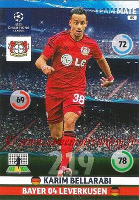 2014-15 - Adrenalyn XL champions League N° 085 - Karim BELLARABI (Bayer Leverkusen)