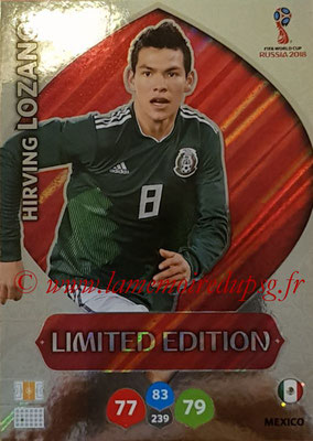 2018 - Panini FIFA World Cup Russia Adrenalyn XL - N° LE-HL - Hirving LOZANO (Mexique) (Limited Edition)