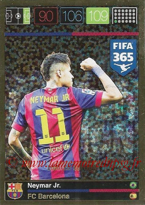 2015-16 - Panini Adrenalyn XL FIFA 365 - N° LE-NE - NEYMAR Jr (FC Barcelone) (Limited Edition)