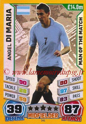 N° 241 - Angel DI MARIA (2014, Argentine > 2015-??, PSG) (Man of the Match)