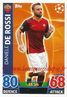 2015-16 - Topps UEFA Champions League Match Attax - N° 439 - Daniele DE ROSSI (AS Roma)