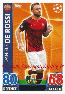 2015-16 - Topps UEFA Champions League Match Attax - N° 439 - Daniele DE ROSSI (AS Roma)