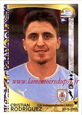 Panini Copa America Centenario USA 2016 Stickers - N° 247 - Cristian RODRIGUEZ (Uruguay)