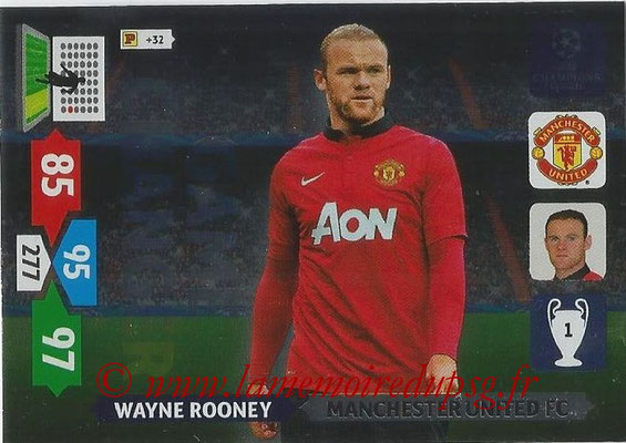 2013-14 - Adrenalyn XL champions League N° 344 - Wayne ROONEY (Manchester United FC) (Game Changer)