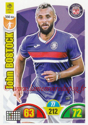 2018-19 - Panini Adrenalyn XL Ligue 1 - N° 356 bis - John BOSTOCK (Toulouse)